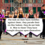 Weekly Devotion-Shame on Parade